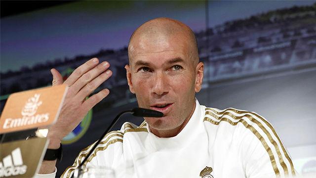 Zidane: Con Hazard es lo que hay; espero que vuelva pronto
