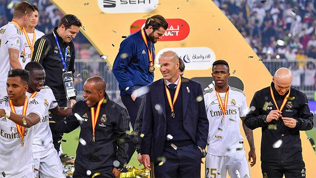 Zidane: Con trabajo y humildad se pueden conseguir muchas cosas