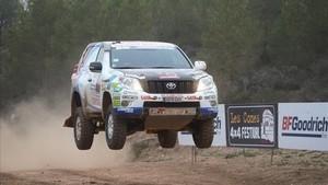 Presencia de vehiculos del Dakar 2018