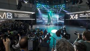 Periodistas durante la presentación del Nuevo BMW M8 Gran coupé