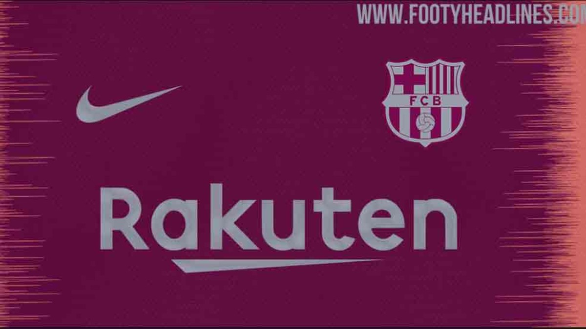 Así será la tercera equipación del FC Barcelona 2018   2019 8ed473983f438