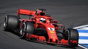 Vettel saldrá desde la pole en el GP de casa