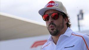 Alonso, con la vista puesta en Fuji