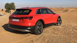Prueba Audi e-Tron.