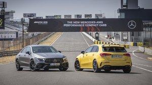 Mercedes-AMG A 45 S y CLA 45 S.