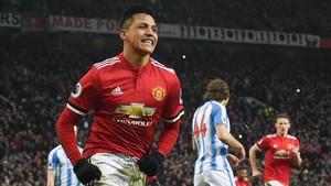 Alexis fue el gran protagonista de la victoria del United