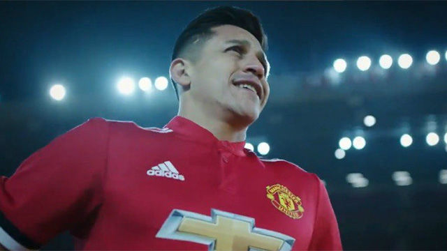 Alexis Sánchez, nuevo jugador del Manchester United