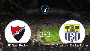 El Alhaurín De La Torre saca un punto al San Pedro a domicilio 3-3