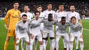 La alineación del Real Madrid que perdió ante el Manchester City