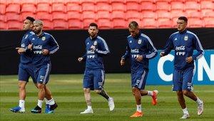 Argentina busca consolidar a su tridente