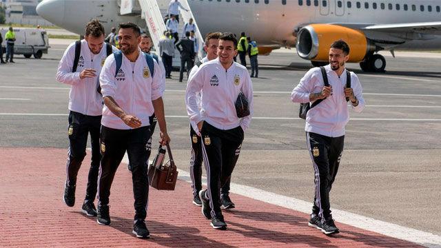 Argentina llega a Marruecos sin Leo Messi