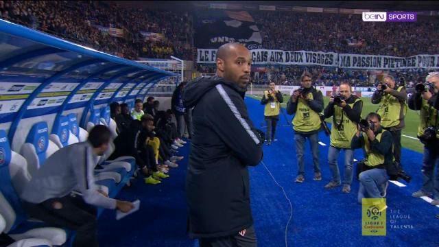 Así fue el debut de Henry como entrenador