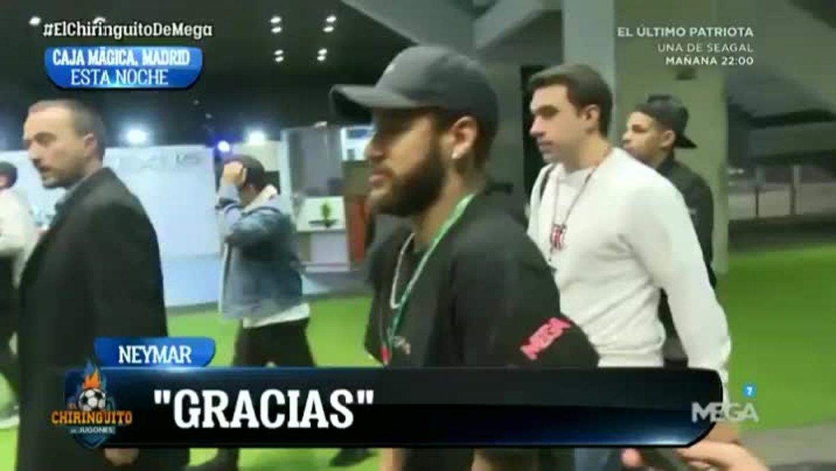 Así responde Neymar a su posible fichaje por el FC Barcelona
