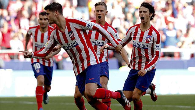 El Atlético se rebaja un 70% del salario