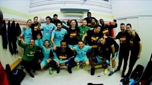 El Barça, campeón de la ASOBAL, en los grupos principales de la Champions 2018-19