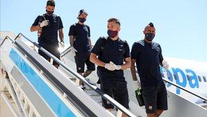 El Barça deberá hacerse test PCR si elimina al Nápoles antes de viajar a Lisboa