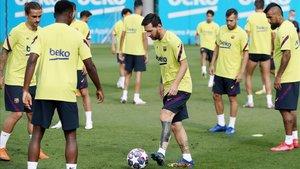 El FC Barcelona confía en derrotar al Bayern y ganar la Champions League