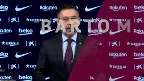 Bartomeu explica su dimisión como presidente del Barcelona