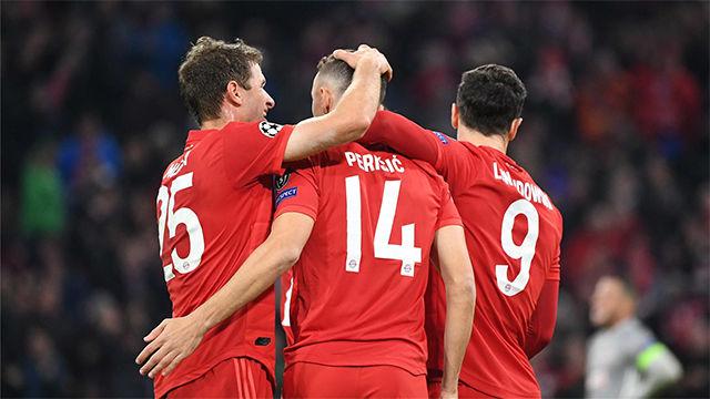 El Bayern de Múnich superó el muro griego y pasa a octavos