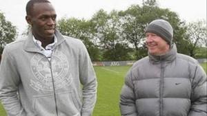 Bolt pide ayuda a su amigo Ferguson para fichar por el United