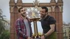 Xavi Barroso y Ricard Muñoz le hincaron el diente a un trofeo que pone el broche a la temporada