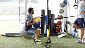 Carles Aleñá se recupera de su lesión