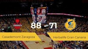 El Casademont Zaragoza se impone por 88-71 frente al Herbalife Gran Canaria