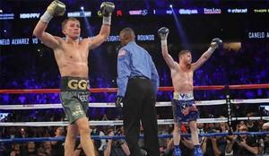 El combate entre Canelo y Golovkin acabó en nulo