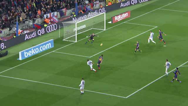La contra del Valladolid que pudo cambiar el partido