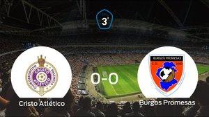 El Cristo Atlético y el Burgos Promesas se reparten los puntos tras empatar a cero
