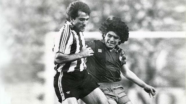 Se cumple 35 años de la grave lesión de Goikoetxea a Maradona