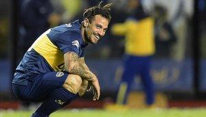 Daniel Osvaldo jugó en Italia y en Boca Juniors