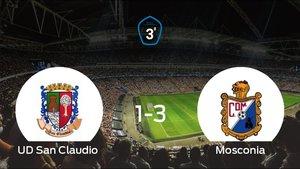 Derrota del San Claudio frente al Mosconia (1-3)
