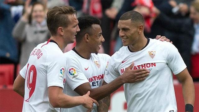 Diego Carlos dio los tres puntos al Sevilla ante el Leganés