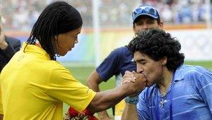 Diego Maradona quiere al astro brasileño en su equipo