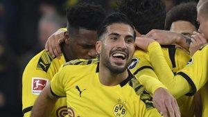 Emre Can, propiedad del Borussia Dortmund al cien por cien.
