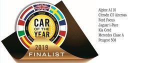 Estos son los siete finalistas del premio Car of the Year 2019.