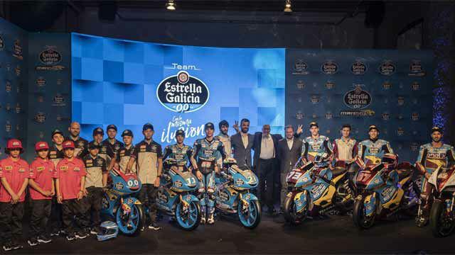 Estrella Galicia 0,0 presenta sus pilotos y equipos de motociclismo 2019