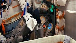 Fyodor se despide de Rusia en su camino a la ISS