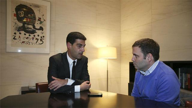 Gerard López, convencido de que el Barça B irá a mejor en la segunda vuelta