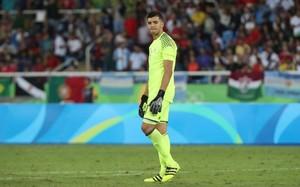 Gero Rulli está disputando los Juegos Olímpicos con Argentina