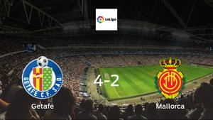Getafe cruise to a 4-2 win over Mallorca at Coliseum Alfonso Pérez