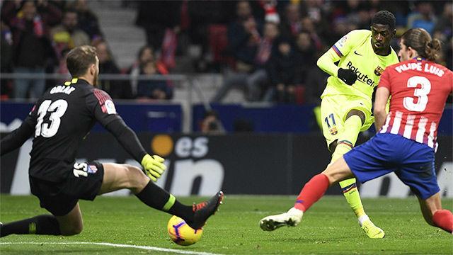 El gol de Dembelé no sirvió para que el Barça conservara el líderato