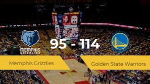 Golden State Warriors se impone por 95-114 frente a Memphis Grizzlies