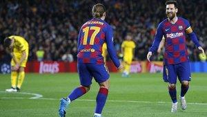 Griezmann y Messi están apercibidos en el Barça
