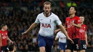 Harry Kane abrió la lata ante el Southampton a los nueve minutos