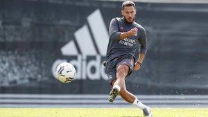 Hazard en busca de sus primeros minutos de la temporada con el Real Madrid