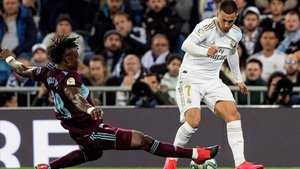 Hazard regresaba tras su larga lesión