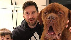 Hulk, el dogo de Leo Messi