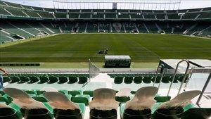 Imagen del estadio Martínez Valero feudo del Elche